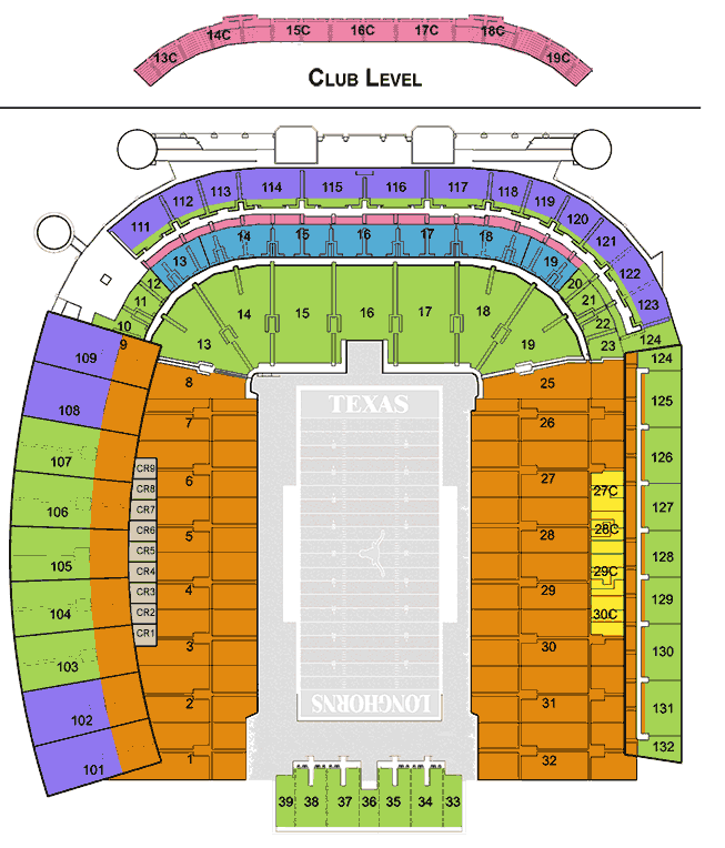 Texas Football Season Tickets